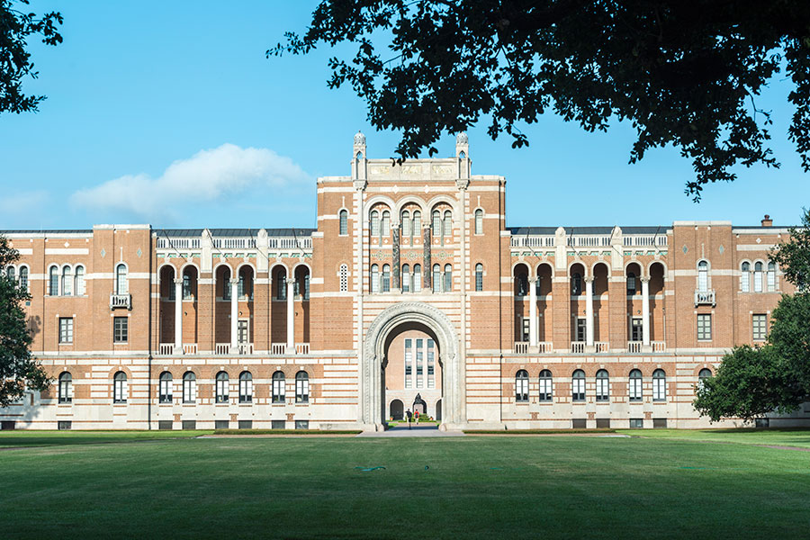 Close proximity to Rice University