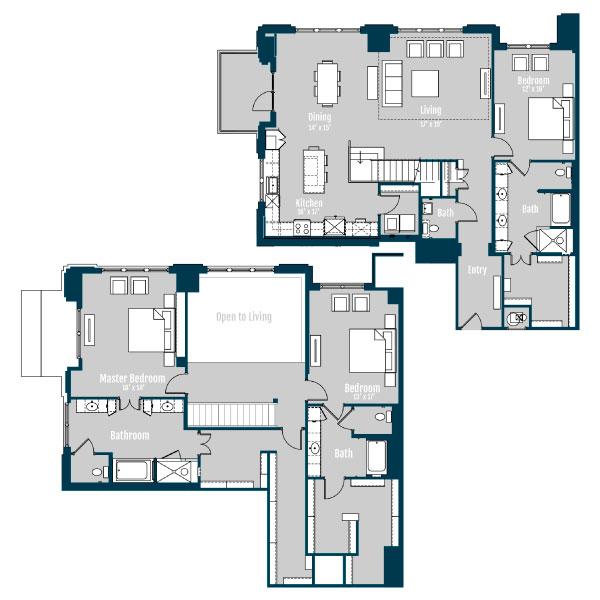3 Bedroom Apartment Houston